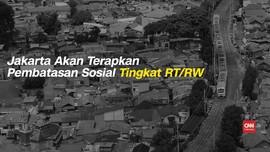 VIDEO: Jakarta Akan Terapkan Pembatasan Sosial di 62 RW