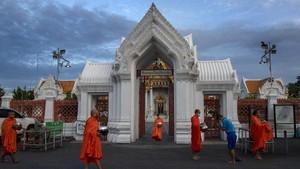 FOTO: Wajah New Normal Thailand saat Kasus Corona Melemah