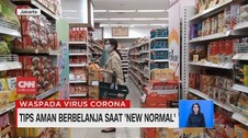 VIDEO: Tips Aman Berbelanja Saat New Normal
