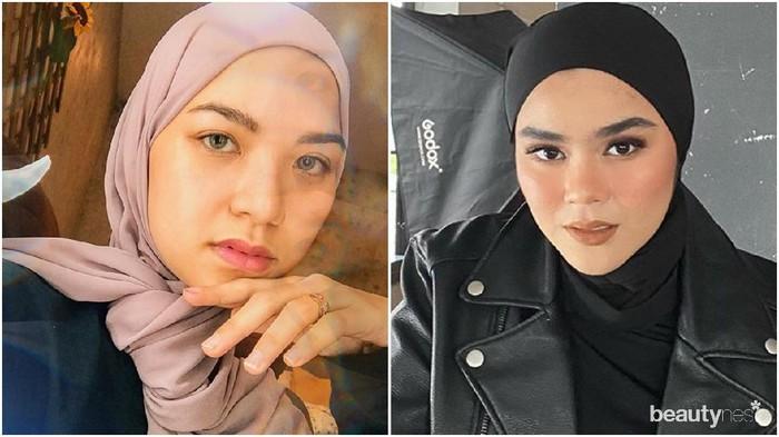Inspirasi Style Hijab Marsha Natika Vs Sivia Azizah