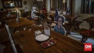 Anies Perpanjang PSBB, Restoran - Kantor Jakarta Buka 8 Juni