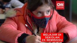 VIDEO: Sekolah Dibuka, Siswa Masuk 2 Kali Seminggu