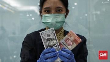 Rupiah menguat 0,10 persen ke posisi Rp14.710 per dolar AS pada Rabu (14/10) pagi. Namun, rupiah berpotensi tertekan.