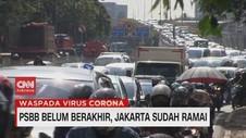 VIDEO: PSBB Belum Berakhir, Jakarta Sudah Ramai