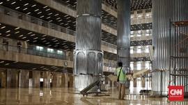 Renovasi Masjid Istiqlal Sudah Rampung 100 Persen