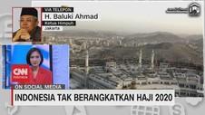 VIDEO: Indonesia Tak Berangkatkan Haji 2020