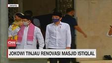 VIDEO: Jokowi Tinjau Renovasi Masjid Istiqlal