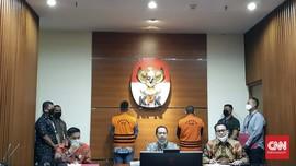 KPK Pamerkan Nurhadi Pakai Rompi Tahanan saat Jumpa Pers