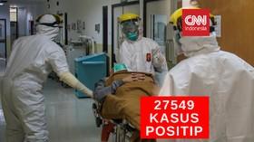 VIDEO: 27.549 Kasus Positif Covid-19 di Indonesia
