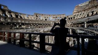 FOTO: Pintu Colosseum Akhirnya Dibuka