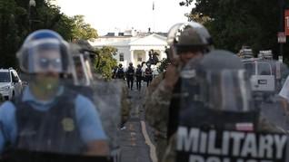 Nama Jalan Dekat Gedung Putih Diubah Jadi Black Lives Matter