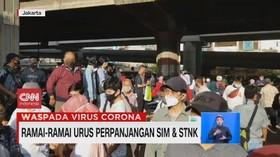 VIDEO: Ramai-ramai Urus Perpanjangan SIM dan STNK