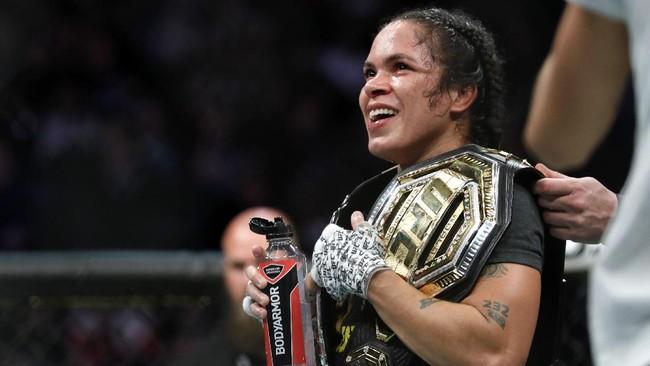 Positif Covid, Amanda Nunes Batal Lawan Pena di UFC 265