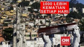 VIDEO: Dalam Sehari, 1262 Orang Tewas Karena Covid-19