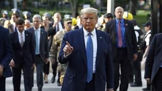 Protes Cara Trump Atasi Demo Rasial, Pejabat Kemlu Mundur