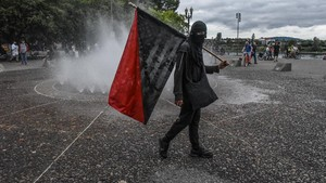 Menyusuri Jejak Kelompok Antifa dalam Demo George Floyd