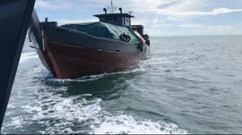 KKP Tangkap 72 Kapal Ikan Ilegal di 100 Hari Era Trenggono