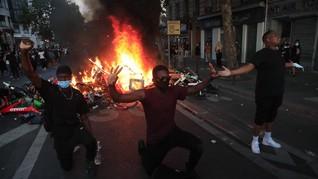 Aksi Dukung George Floyd Berujung Rusuh di Paris