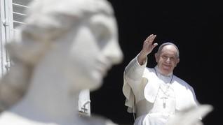 Paus Fransiskus Sebut Kematian George Floyd Peristiwa Tragis