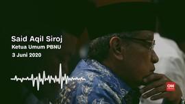 VIDEO: Said Aqil Sebut Pemerintah Gugup-Gagap Hadapi Covid-19