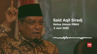 VIDEO: Said Aqil Komentari Putusan Pemerintah Soal Haji 2020