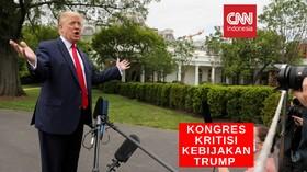 VIDEO: Sikap Trump Mengatasi Unjuk Rasa Dikritik Parlemen