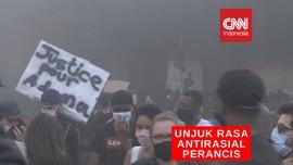 VIDEO: Bentrokan Antara pengunjuk Rasa dan Polisi di Paris