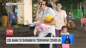 VIDEO: 130 Anak di Surabaya Terpapar Covid-19