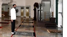 Jokowi Bakal Salat Jumat Berjemaah di Masjid Istana