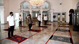 Masjid di Istana Kembali Gelar Salat Jumat Berjemaah