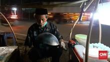 PSBB Jakarta dan Keluh Pedagang Megap-megap Cari Uang