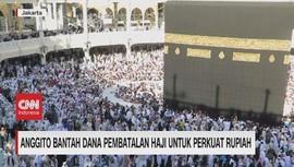 VIDEO: Anggito Bantah Penyalahgunaan Dana Pembatalan Haji
