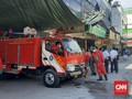 Akhir PSBB Jakarta, Pasar Tanah Abang Disemprot Disinfektan