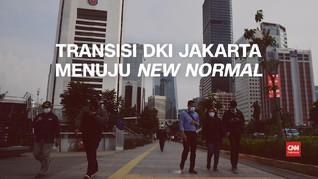 VIDEO: Fase-fase Transisi DKI Jakarta Menuju New Normal