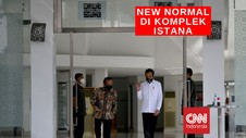VIDEO: Persiapan New Normal di Komplek Istana Kepresidenan