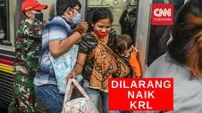 VIDEO: 8 Juni Balita Dilarang Naik KRL