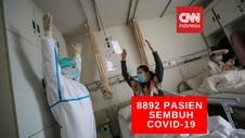 VIDEO: 8.892 Pasien Covid-19 di Indonesia Sembuh