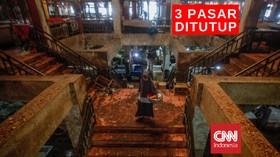 VIDEO: Tiga Pasar di Semarang Ditutup Sementara