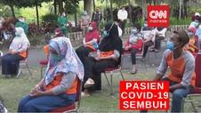 VIDEO: Belasan Pasien Covid-19 di Pasuruan Sembuh