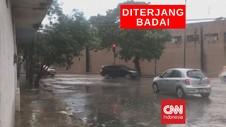 VIDEO: Badai Tropis Cristobal Terjang Teluk Meksiko