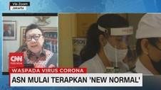 VIDEO: ASN Mulai Terapkan 'New Normal'