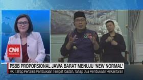 VIDEO: PSBB Proposional Jawa Barat Menuju 'New Normal'