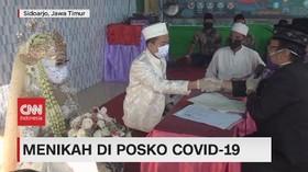 VIDEO: Menikah di Posko Covid-19