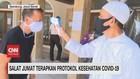 VIDEO: Salat Jumat Terapkan Protokol Kesehatan Covid-19