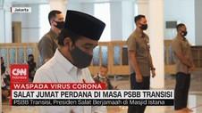 VIDEO: Salat Jumat Perdana di Masa PSBB Transisi