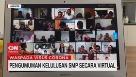 VIDEO: Pengumuman Kelulusan SMP Secara Virtual