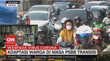 VIDEO: Adaptasi Warga di Masa PSBB Transisi