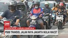 VIDEO: PSBB Transisi, Jalan Raya Jakarta Mulai Macet