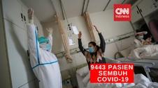 VIDEO: 9.443 Pasien Covid-19 di Indonesia Sembuh