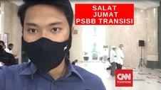 VIDEO: Vlog Persiapan Salat Jumat Hari Pertama PSBB Jakarta